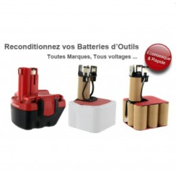 Reconditionnement de batteries de perceuses