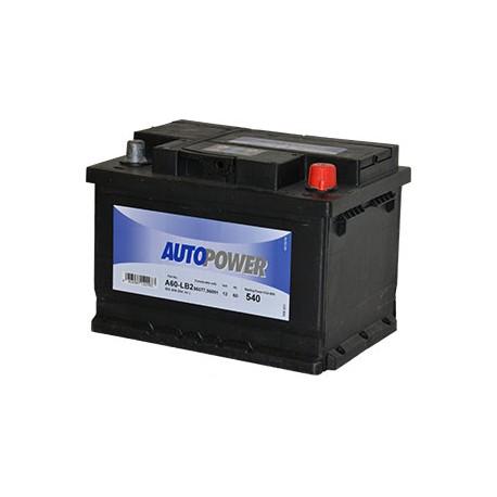 Batterie Autopower 12 V 60Ah 540Amp