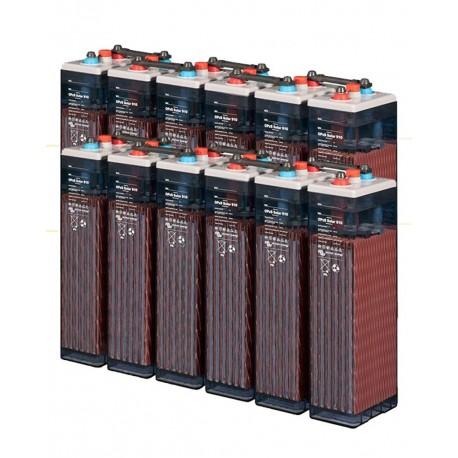 12 Batteries solaire 660Ah