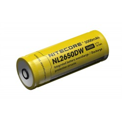 Accus Li-ion 3.7 V  5000 Mah 26650