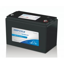 Batterie décharge lente 115 Ah AGM