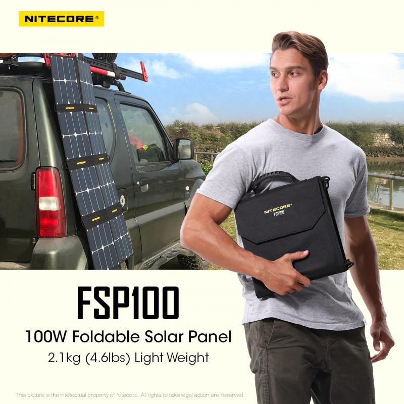 Panneau Solaire 100W nitecore FSP100